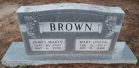 BROWN, JAMES MARTY  - Bowie County, Texas | JAMES MARTY  BROWN - Texas Gravestone Photos