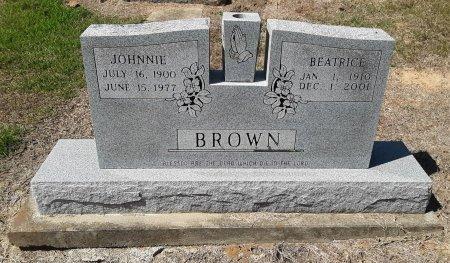 BROWN, JOHNNIE - Bowie County, Texas | JOHNNIE BROWN - Texas Gravestone Photos