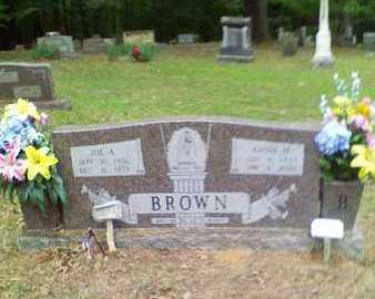 BROWN, ANNIE M - Bowie County, Texas | ANNIE M BROWN - Texas Gravestone Photos