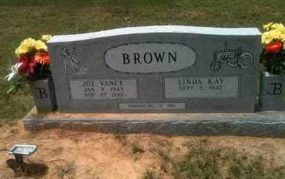 BROWN, JOE VANCE - Bowie County, Texas   JOE VANCE BROWN - Texas Gravestone Photos