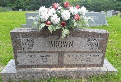 BROWN, JAMES HOWARD - Bowie County, Texas | JAMES HOWARD BROWN - Texas Gravestone Photos