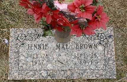BROWN, JENNIE MAE - Bowie County, Texas | JENNIE MAE BROWN - Texas Gravestone Photos