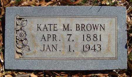 BROWN, KATE - Bowie County, Texas | KATE BROWN - Texas Gravestone Photos