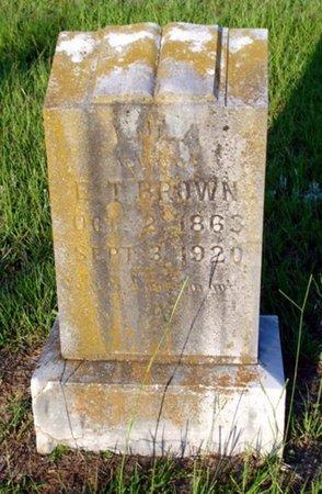 BROWN, LULA - Bowie County, Texas   LULA BROWN - Texas Gravestone Photos