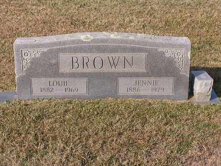 BROWN, JENNIE - Bowie County, Texas | JENNIE BROWN - Texas Gravestone Photos