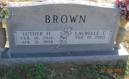 BROWN, LUTHER H. - Bowie County, Texas | LUTHER H. BROWN - Texas Gravestone Photos