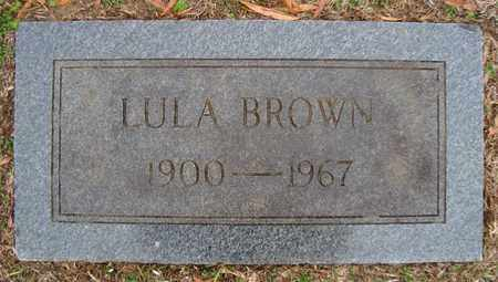 BROWN, LULA - Bowie County, Texas | LULA BROWN - Texas Gravestone Photos
