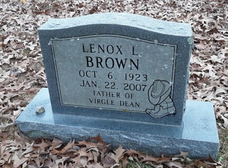BROWN, LENOX L  - Bowie County, Texas | LENOX L  BROWN - Texas Gravestone Photos