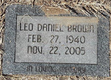 BROWN, LEO DANIEL - Bowie County, Texas | LEO DANIEL BROWN - Texas Gravestone Photos