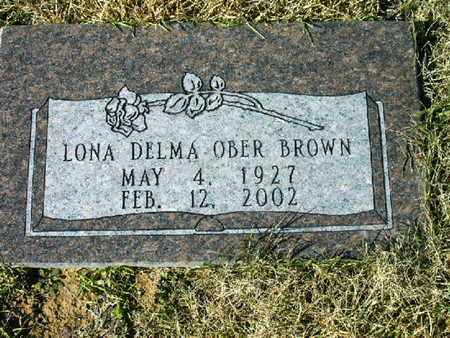 BROWN, LONA DELMA - Bowie County, Texas | LONA DELMA BROWN - Texas Gravestone Photos