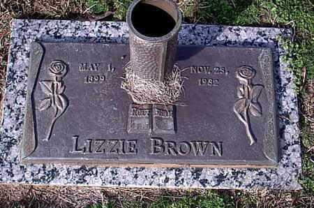 BROWN, LIZZIE - Bowie County, Texas | LIZZIE BROWN - Texas Gravestone Photos