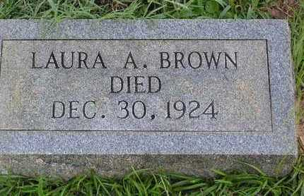 BROWN, LAURA A - Bowie County, Texas | LAURA A BROWN - Texas Gravestone Photos