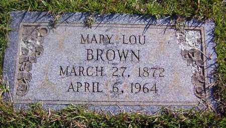BROWN, MARY LOU - Bowie County, Texas | MARY LOU BROWN - Texas Gravestone Photos