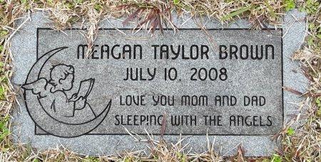 BROWN, MEAGAN TAYLOR - Bowie County, Texas | MEAGAN TAYLOR BROWN - Texas Gravestone Photos
