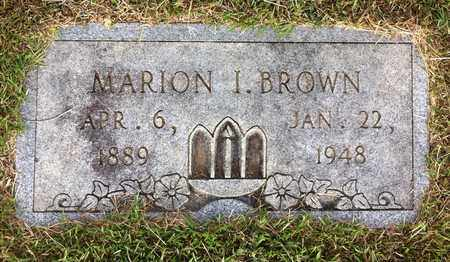 BROWN, MARION I - Bowie County, Texas | MARION I BROWN - Texas Gravestone Photos
