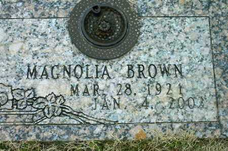 BROWN, MAGNOLIA - Bowie County, Texas | MAGNOLIA BROWN - Texas Gravestone Photos