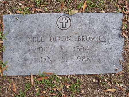 BROWN, NELL - Bowie County, Texas | NELL BROWN - Texas Gravestone Photos