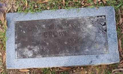 BROWN, OPAL - Bowie County, Texas | OPAL BROWN - Texas Gravestone Photos