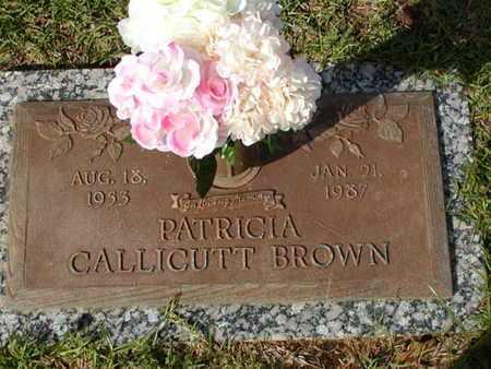 BROWN, PATRICIA - Bowie County, Texas | PATRICIA BROWN - Texas Gravestone Photos