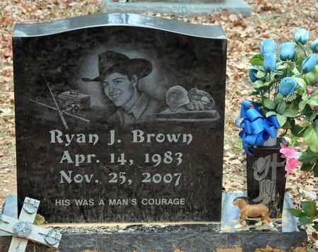BROWN, RYAN J (2ND) - Bowie County, Texas | RYAN J (2ND) BROWN - Texas Gravestone Photos