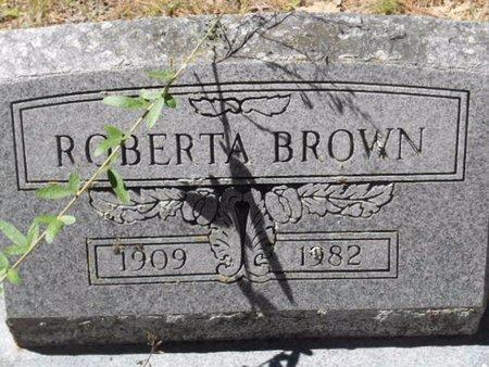 BROWN, ROBERTA - Bowie County, Texas | ROBERTA BROWN - Texas Gravestone Photos