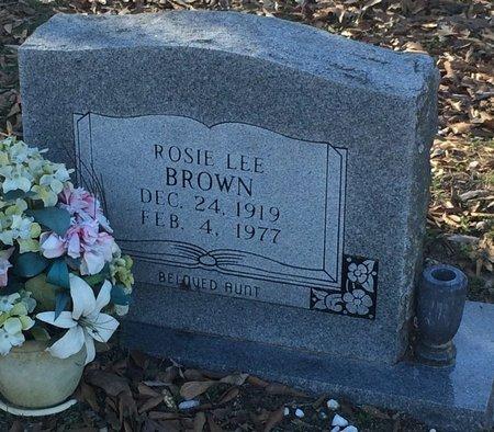 BROWN, ROSIE LEE - Bowie County, Texas | ROSIE LEE BROWN - Texas Gravestone Photos