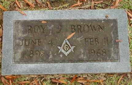 BROWN, ROY J - Bowie County, Texas   ROY J BROWN - Texas Gravestone Photos