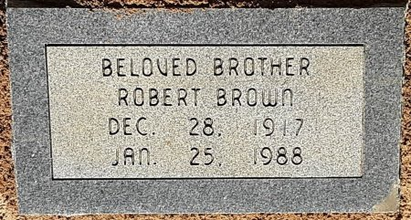 BROWN, ROBERT - Bowie County, Texas | ROBERT BROWN - Texas Gravestone Photos