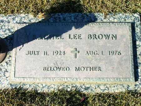 BROWN, RACHEL LEE - Bowie County, Texas | RACHEL LEE BROWN - Texas Gravestone Photos