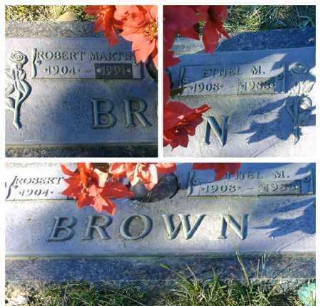 BROWN, ROBERT MARTIN - Bowie County, Texas | ROBERT MARTIN BROWN - Texas Gravestone Photos