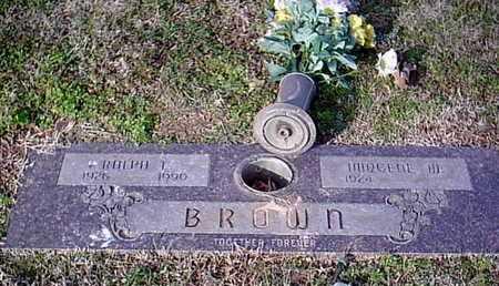 BROWN, RALPH I - Bowie County, Texas | RALPH I BROWN - Texas Gravestone Photos