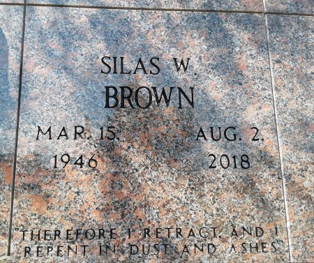 BROWN, SILAS W - Bowie County, Texas | SILAS W BROWN - Texas Gravestone Photos