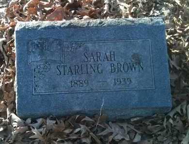 BROWN, SARAH - Bowie County, Texas | SARAH BROWN - Texas Gravestone Photos
