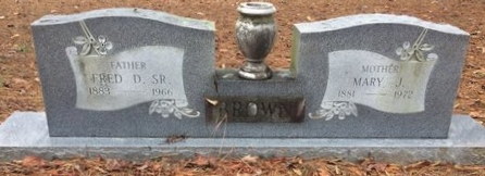 BROWN, MARY J. - Bowie County, Texas | MARY J. BROWN - Texas Gravestone Photos