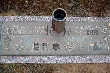BROWN, WILMA J - Bowie County, Texas | WILMA J BROWN - Texas Gravestone Photos