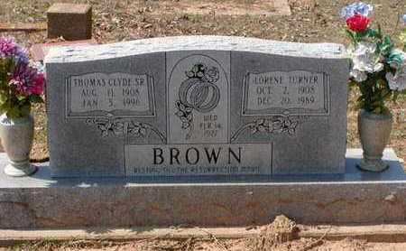 BROWN, LORENE - Bowie County, Texas | LORENE BROWN - Texas Gravestone Photos