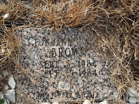 BROWN, TONYANNA L - Bowie County, Texas | TONYANNA L BROWN - Texas Gravestone Photos
