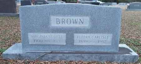 BROWN, VIRGINIA - Bowie County, Texas | VIRGINIA BROWN - Texas Gravestone Photos