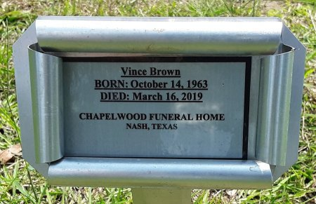 BROWN, VINCE (FHM) - Bowie County, Texas | VINCE (FHM) BROWN - Texas Gravestone Photos