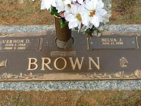 BROWN, VERNON D - Bowie County, Texas | VERNON D BROWN - Texas Gravestone Photos