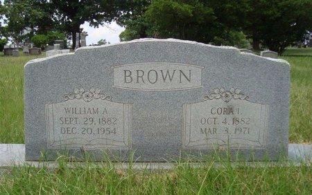 BROWN, WILLIAM A - Bowie County, Texas   WILLIAM A BROWN - Texas Gravestone Photos