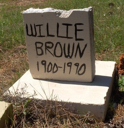 BROWN, WILLIE - Bowie County, Texas | WILLIE BROWN - Texas Gravestone Photos