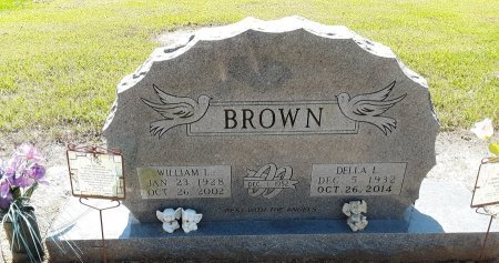 BROWN, WILLIAM L - Bowie County, Texas | WILLIAM L BROWN - Texas Gravestone Photos