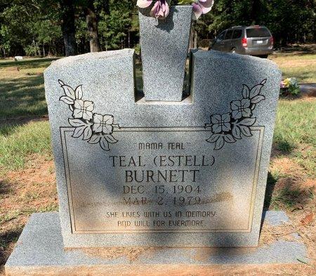 BURNETT, TEAL - Bowie County, Texas | TEAL BURNETT - Texas Gravestone Photos