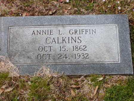 GRIFFIN, ANNIE L - Bowie County, Texas   ANNIE L GRIFFIN - Texas Gravestone Photos