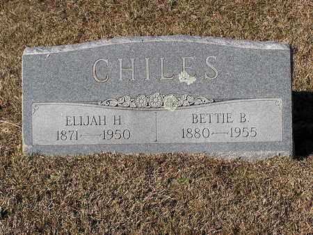 CHILES, ELIJAH H - Bowie County, Texas | ELIJAH H CHILES - Texas Gravestone Photos
