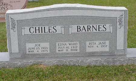CHILES, EDNA - Bowie County, Texas | EDNA CHILES - Texas Gravestone Photos