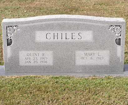 CHILES, QUINT R - Bowie County, Texas | QUINT R CHILES - Texas Gravestone Photos