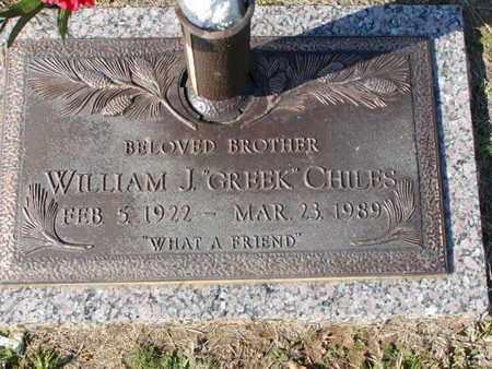 CHILES, WILLIAM J - Bowie County, Texas | WILLIAM J CHILES - Texas Gravestone Photos