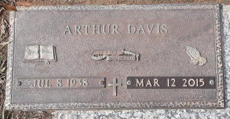 DAVIS, ARTHUR - Bowie County, Texas   ARTHUR DAVIS - Texas Gravestone Photos